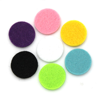 Multic Colors Round Perfume Locket Pad for Jewelry PD001