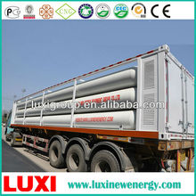 CNG container, 25Mpa , 8769.6Nm.3 , ISO 11120cng cascade skid.cng container.