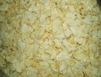 2015 new crop material dehydrated garlic flake from china