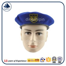 Cheap Blue Navy Berets with Embroidered Badge