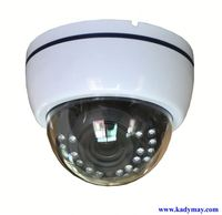 2013 Hot-Selling!!! 30M IR Dome 1/3 sony super had ii ccd camera,Plastic Housing