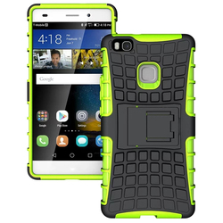 Rugged Shockproof Stand Armor Case Cover For Huawei P9 lite ------- Laudtec