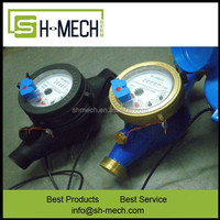 20mm Plastic Nylon BSTP AWWA Reed Switch Water Meter