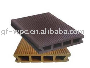 Bois plastique composite platelage wpc plancher ext rieur for Plancher exterieur pvc