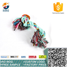 New design Dog Product blue cotton rope pet toy dog chew toy
