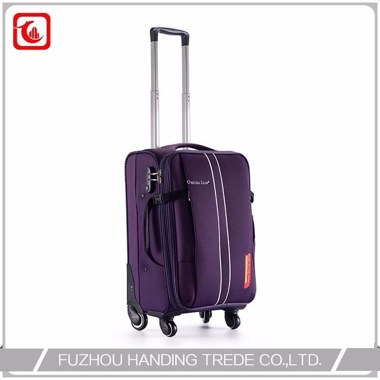 Bussiness Luggage Business Fibre Newest Trolley Bag Factory