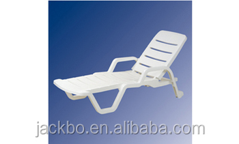 2016 Superior white outdoor furniture cheap plastic folding beach chairs
