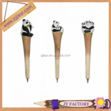 2015 animal design new promotional gifts stationery wooden pen