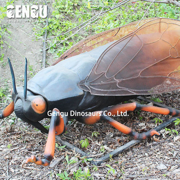 Waterproof 3D Animatronic Insect Model