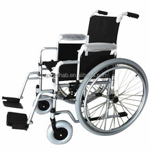 "Chinese Supplier Steel Brake Custom Manual Wheelchairs 8""X2"" Wheel With Pu Tire"