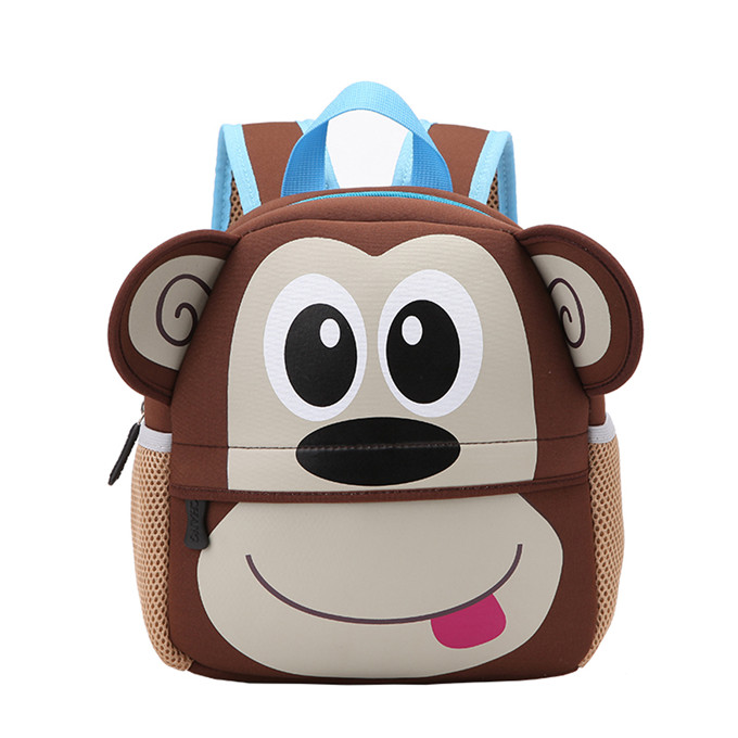 3D cartoon image picture waterproof kids school bag