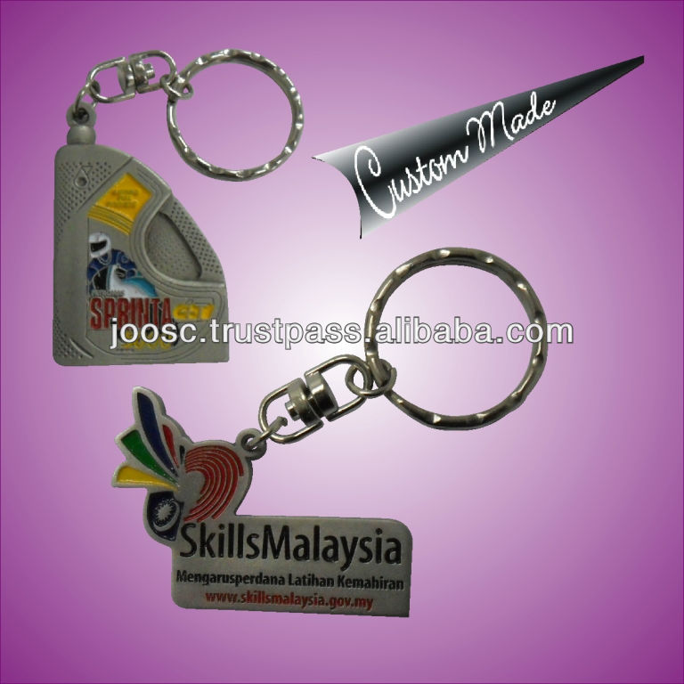 key chain with colour