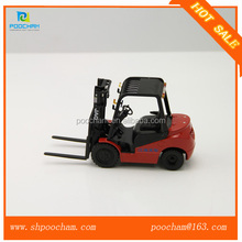 Diecast mini forklift models scale 1 25