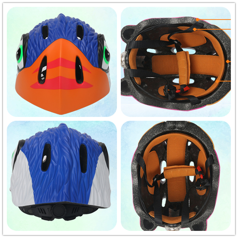 Factory directory sales cheap animal style kids riding helmet