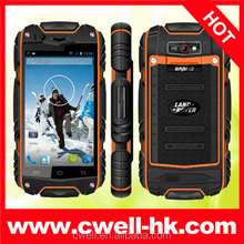 Shockproof mobile phone discovery v5 android phone waterproof V8 dustproof Cheapest rugged phone