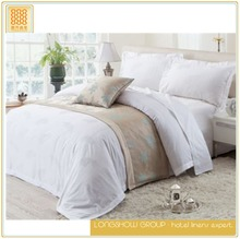 bedsheets sets 40s bed sheets 50% cotton 50% polyester by China manufacturer