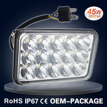 9-60V 45W led volvo truck headlight driving lights