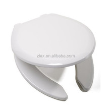 Slow Close Premium Plastic Open Front Elongated Toilet Seat