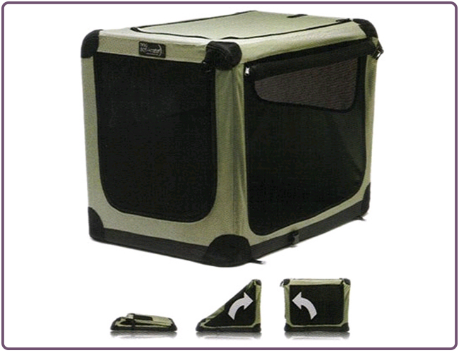 Dog Travelling Crate Collapsible Soft Dog Crate