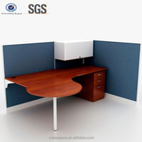 half round office desk