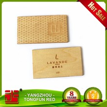 eco-friendly vip wood business card