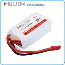 11.1v 850mah li-polymer rechargeable battery for leather keyboard high rate battery