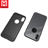 HWcase Trending Product Eco-friendly material Tempered Glass Case for iPhone X