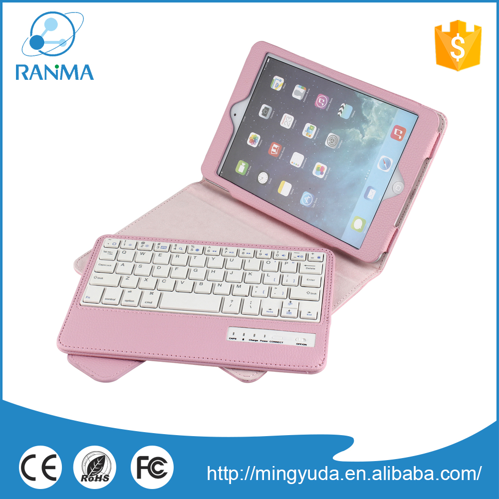 Universal 7.9 inch tablet pc removable keyboard case for ipad mini 2/3/4