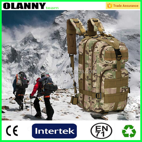 climbing outdoor hiking canvas backpack