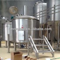 Tailor made mash tun brew kettle craft beer equipment 3000l 2000l 1000l beer brewing system