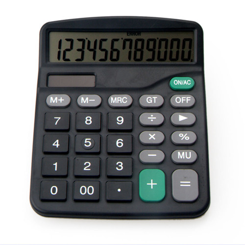 12 digits big size desktop electronic calculator