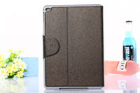 OEM/ODM available Oracle leather case+PC inner backup for iPad air 2 with stand wallet design