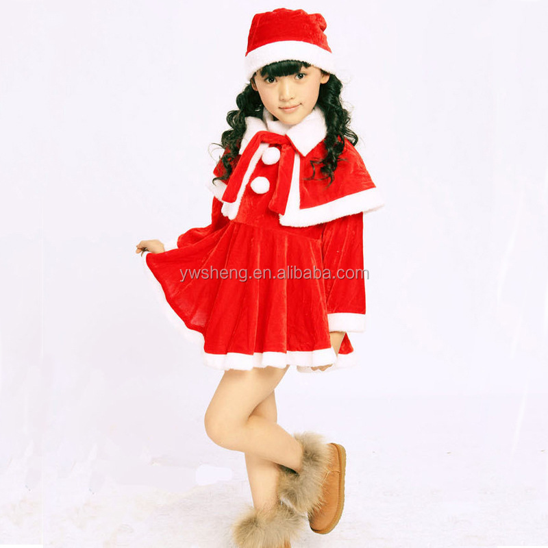 child christmas outfit clothing sets,cute little girls Christmas set 3 pieces set kids performance wear clothing