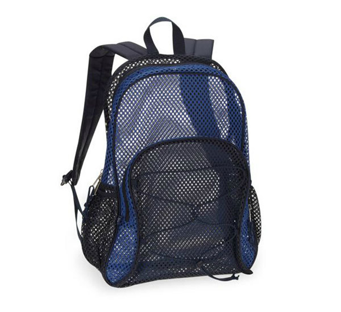 Wholesale Promotional Beautiful Durable Polyester Mesh Backpack