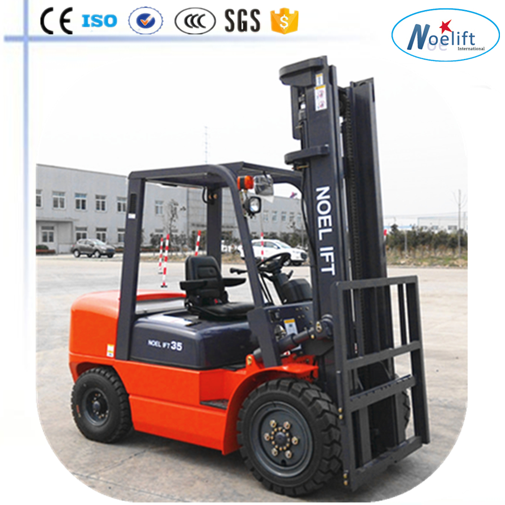 forklift with cotton bale clamp Diesel powered forklift 3.5t forklift promotion price 3.5T fork lift truck diesel forklift