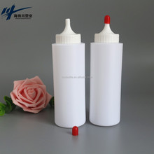 HNC Refillable Empty Plastic Bottle for Ultrasound Gel PE 250ML Dispenser
