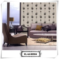 Top quality elegant pvc wallpaper latest building materials for home decoration