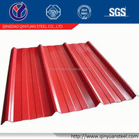 Factory Supply Corrugated Metal Sheet Color Roofing Steel Sheet