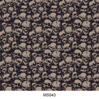Skull design water transfer printing paper, hydrographic film water transfer MS043
