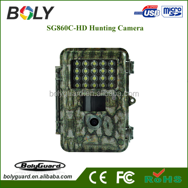 940nm 1080p HD hunting camera, PIR sensors, night vision function