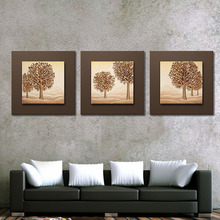 Home Decor Relief 3D Wall Paintings Of Modern Trees