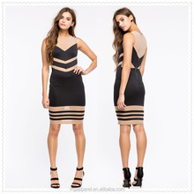 bangkok sleeveless concealed back zipper closure bodycon dress fashion