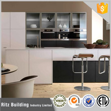 Hot sale affordable discontinued modern white lacquer kitchen cabinets