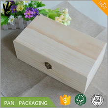 Custom wooden essential oil gift packing box essential oil storage wood box