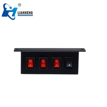 Pre wired switch box 3 on/off switch and 1 pattern control panel for warning lights