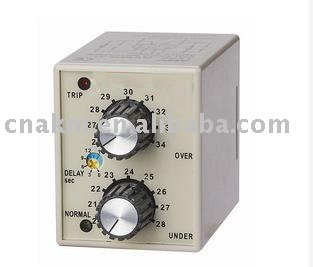 DVM-A series Electronic DC Over Under Voltage Protection Relay