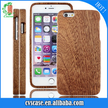 Custom OEM/ODM Two parts Wholesale Real Wood Cell Case Sapele Wood Phone Cover two for IPhone 6/6s/6 plus