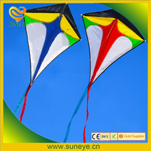 30 inch Diamond delta kite Outdoor Sports toys single line for kids with flying line