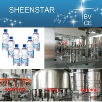 2015 new Water Rinsing Filling And Capping Packing Machine