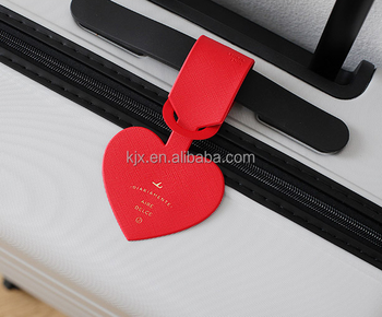 Custom Leather Luggage Tag Manufacturer
